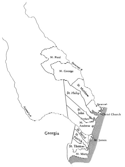 Colonial Map Of Georgia.Maps